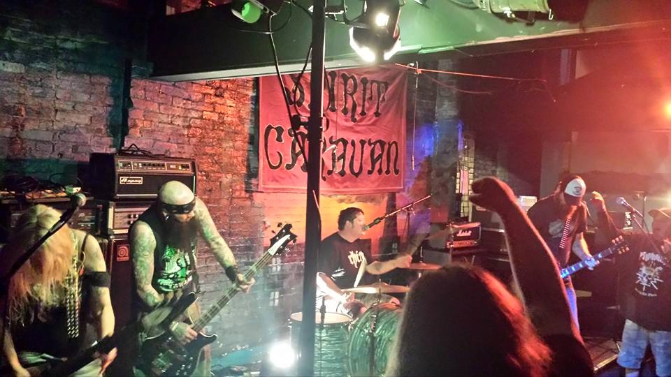 photo: Tina Giles .. June 2015 .. MD Doom Fest at Cafe 611, Frederick MD