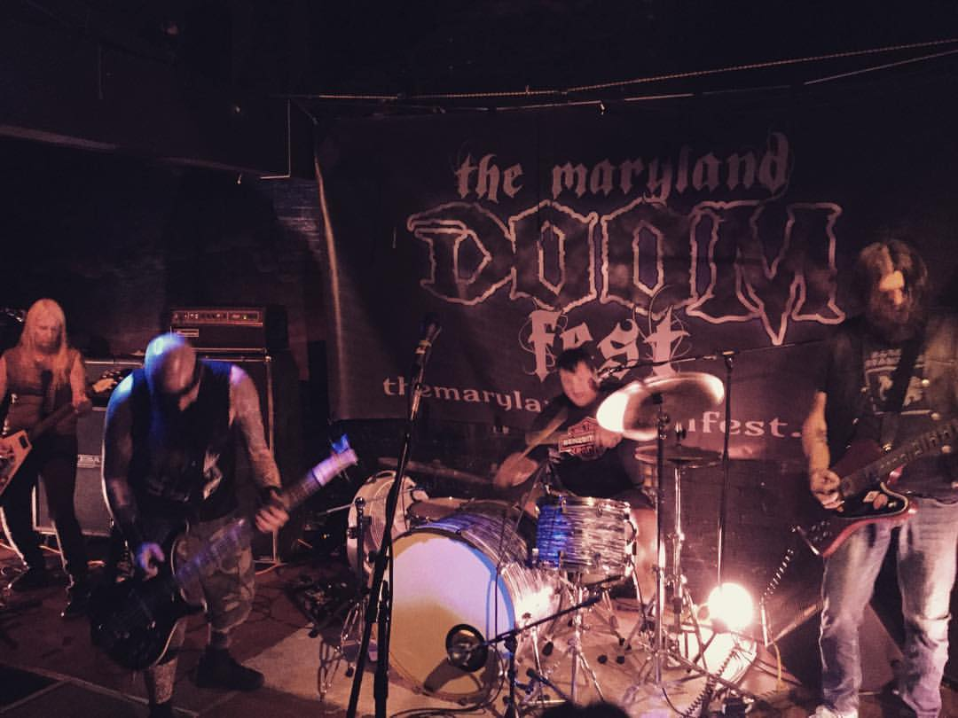 photo: Ben Proudman ... June 26, 2016 .. Maryland DoomFest II at Cafe 611, Frederick MD
